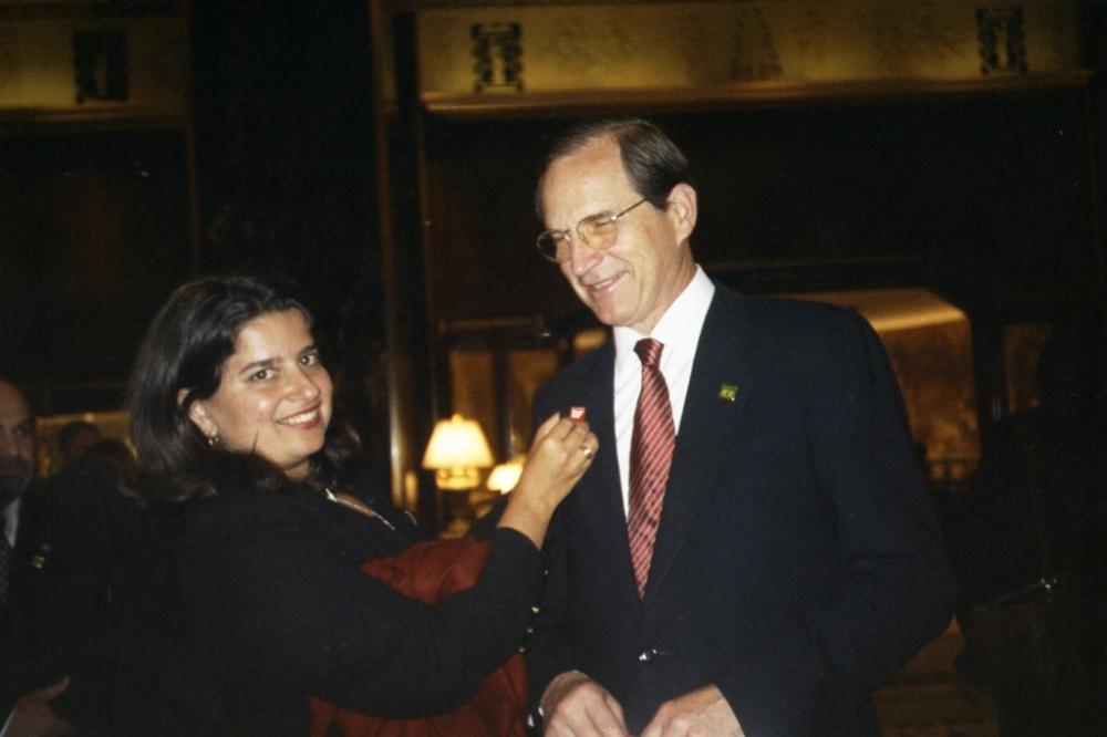 Anita Amorim e Ministro Furlan